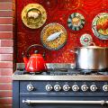 Панно из плитки на кухню: 80+ ярких фотоидей для декора фартука и кухонной отделки фото