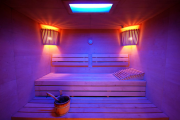 Фото 7 Cовременные светильники и абажуры для бани и сауны: советы по выбору и монтажу
