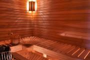 Фото 8 Cовременные светильники и абажуры для бани и сауны: советы по выбору и монтажу