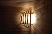 Фото 19 Cовременные светильники и абажуры для бани и сауны: советы по выбору и монтажу