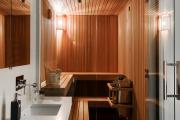 Фото 26 Cовременные светильники и абажуры для бани и сауны: советы по выбору и монтажу