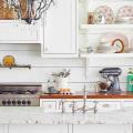 Белая кухня в интерьере: 60+ роскошных классических интерьеров и лучшие цветовые сочетания с белым фото