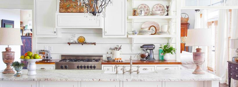 Белая кухня в интерьере: 60+ роскошных классических интерьеров и лучшие цветовые сочетания с белым