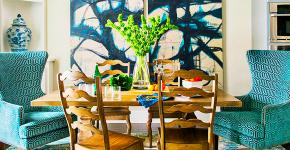 Цвет Тиффани в интерьере: 70+ утонченных дизайнерских трендов в бирюзовой гамме фото