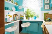 Фото 15 Цвет Тиффани в интерьере: 70+ утонченных дизайнерских трендов в бирюзовой гамме