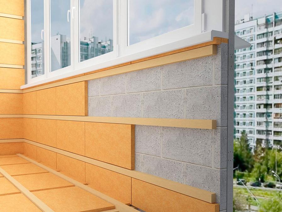 Сколько стоит утеплить балкон цена за работу.