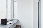 Фото 32 Дизайн кухни с выходом на балкон: лучшие идеи планировки, утепление и выбор функциональной мебели