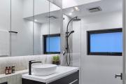 Фото 5 Дизайн ванной комнаты площадью 5 метров: максимум функциональности при минимуме затрат