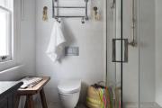 Фото 6 Дизайн ванной комнаты площадью 5 метров: максимум функциональности при минимуме затрат