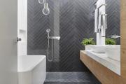 Фото 8 Дизайн ванной комнаты 5 кв. метров: 80+ стильных фотоидей для интерьера маленького санузла