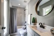 Фото 7 Дизайн ванной комнаты площадью 5 метров: максимум функциональности при минимуме затрат