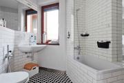 Фото 4 Дизайн ванной комнаты 5 кв. метров: 80+ стильных фотоидей для интерьера маленького санузла