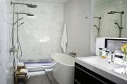Фото 17 Дизайн ванной комнаты 5 кв. метров: 80+ стильных фотоидей для интерьера маленького санузла
