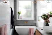 Фото 20 Дизайн ванной комнаты площадью 5 метров: максимум функциональности при минимуме затрат