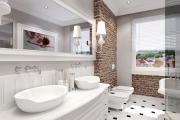 Фото 25 Дизайн ванной комнаты площадью 5 метров: максимум функциональности при минимуме затрат