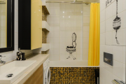 Фото 26 Дизайн ванной комнаты 5 кв. метров: 80+ стильных фотоидей для интерьера маленького санузла