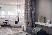 Фото 27 Дизайн ванной комнаты площадью 5 метров: максимум функциональности при минимуме затрат