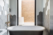 Фото 28 Дизайн ванной комнаты площадью 5 метров: максимум функциональности при минимуме затрат
