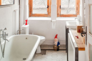 Фото 29 Дизайн ванной комнаты 5 кв. метров: 80+ стильных фотоидей для интерьера маленького санузла