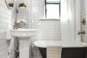 Фото 30 Дизайн ванной комнаты 5 кв. метров: 80+ стильных фотоидей для интерьера маленького санузла