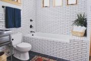 Фото 1 Дизайн ванной комнаты 5 кв. метров: 80+ стильных фотоидей для интерьера маленького санузла