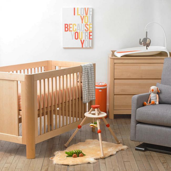 Гармоничный и теплый образ детской комнаты