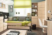 Фото 20 Благородство, доступное каждому: 65 светлых и лаконичных интерьеров с мебелью в цвете дуб сонома