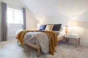 Фото 27 Благородство, доступное каждому: 65 светлых и лаконичных интерьеров с мебелью в цвете дуб сонома