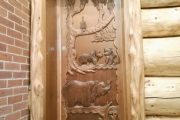 Фото 16 Парная в удовольствие: как выбрать правильные деревянные двери для бани?