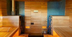 Парная в удовольствие: как выбрать правильные деревянные двери для бани? фото