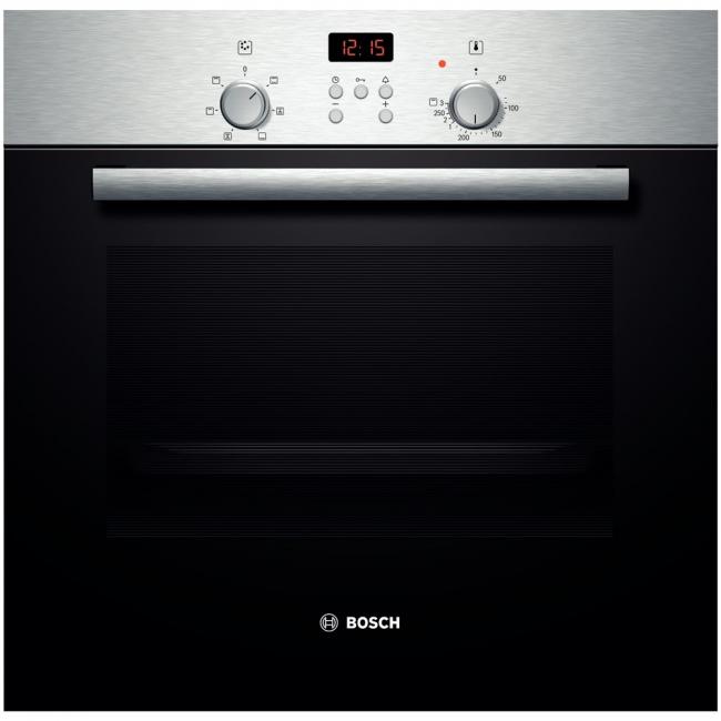 """Встраиваемая модель с режимом """"Горячий воздух"""" позволяет готовить блюда даже на двух уровнях одновременно"""