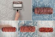 Фото 10 Фактурная краска для стен: обзор стильных идей для дизайна квартиры и дома