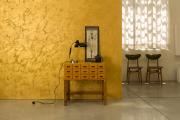Фото 11 Фактурная краска для стен: обзор стильных идей для дизайна квартиры и дома