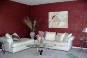 Фото 6 Фактурная краска для стен: обзор стильных идей для дизайна квартиры и дома