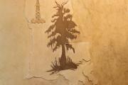 Фото 1 Фактурная краска для стен: обзор стильных идей для дизайна квартиры и дома