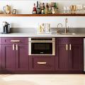 Фиолетовая кухня (100+ фото): выбор дизайнеров — фиолетовые тона для кухни и лучшие сочетания цветов фото