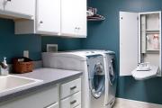 Фото 11 Гладильная доска, встроенная в шкаф: 60+ лучших идей для удобства и экономии места в доме