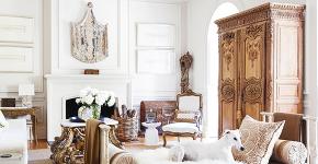 Дизайн интерьера гостиной в стиле прованса (100+ безупречных фотоидей): создаем уютную сказку у себя дома! фото