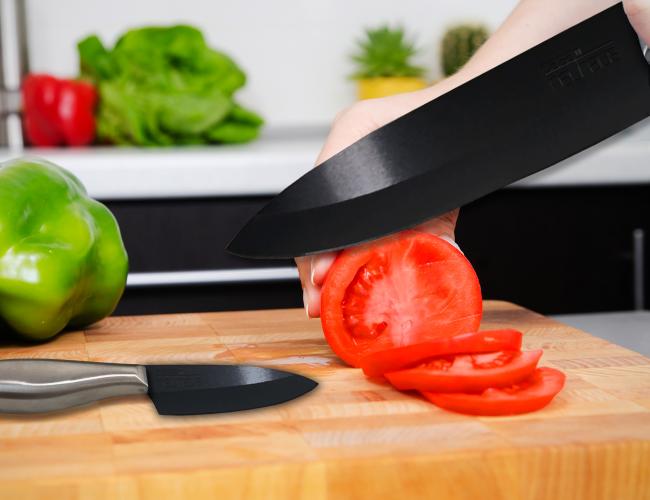 Керамический нож это отличный выбор