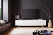 Фото 24 Как спрятать провода от телевизора на стене? Секреты, дизайнерские идеи и лайфхаки