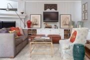 Фото 25 Как спрятать провода от телевизора на стене? Секреты, дизайнерские идеи и лайфхаки