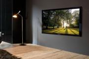 Фото 4 Как спрятать провода от телевизора на стене? Секреты, дизайнерские идеи и лайфхаки