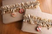 Фото 12 Как стильно упаковать подарок в подарочную бумагу: простые варианты своими руками