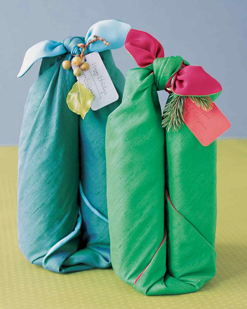 Как обыграть в подарок платок