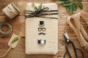Фото 22 Как стильно упаковать подарок в подарочную бумагу: простые варианты своими руками