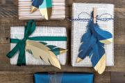 Фото 25 Как стильно упаковать подарок в подарочную бумагу: простые варианты своими руками