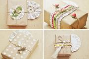Фото 28 Как стильно упаковать подарок в подарочную бумагу: простые варианты своими руками