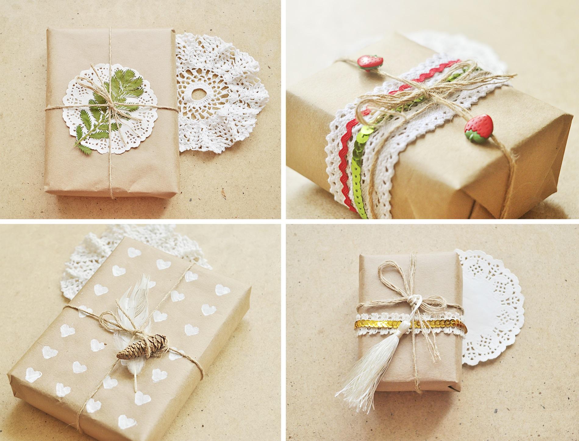 Красиво упаковать подарок своими руками мужчине