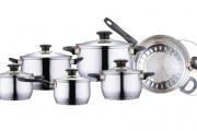 Фото 9 Посуда из нержавеющей стали: особенности изделий и обзор лучших производителей на рынке