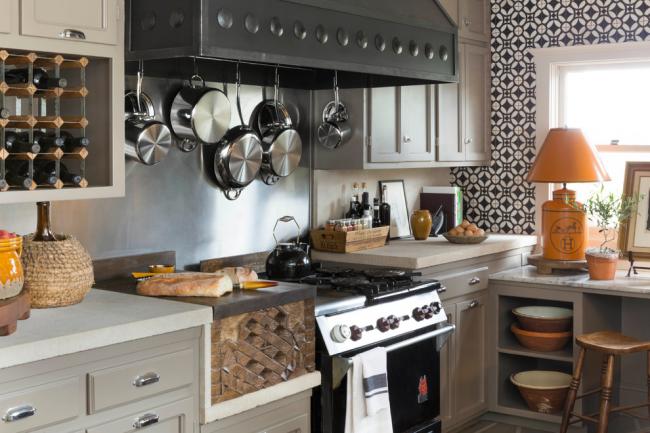 Нержавеющая посуда для кантри кухни